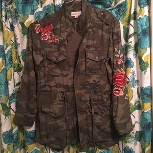 Camo Utility safari fall jacket